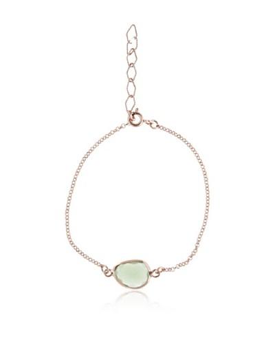 Silver Lux Pulsera Cute Ágata Verde