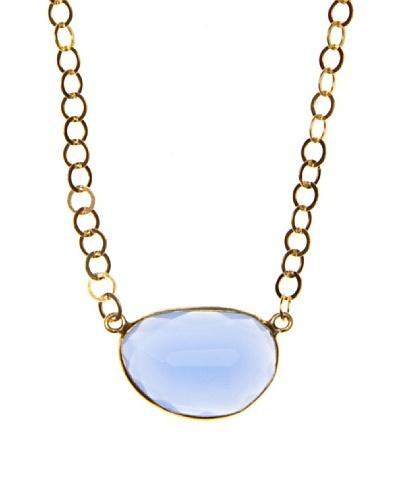 Silver One Gargantilla Luxury Calcedonia Oro