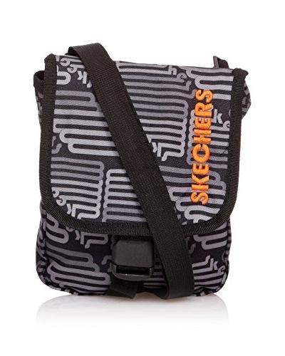 Skechers Bags Bolso Bandolera Negro / Gris