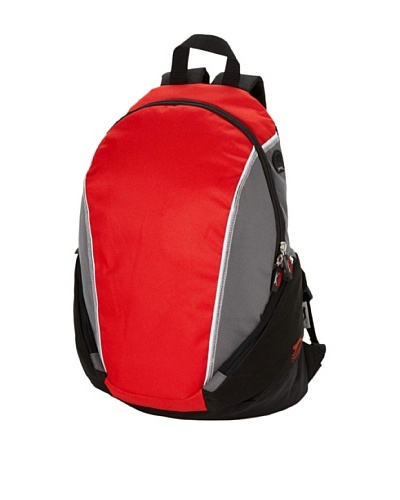Slazenger Mochila 11962403 Rojo / Gris