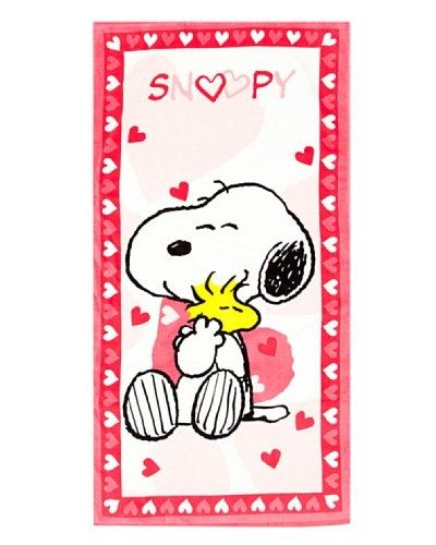 SNOOPY Toalla Playa Snoopy Love