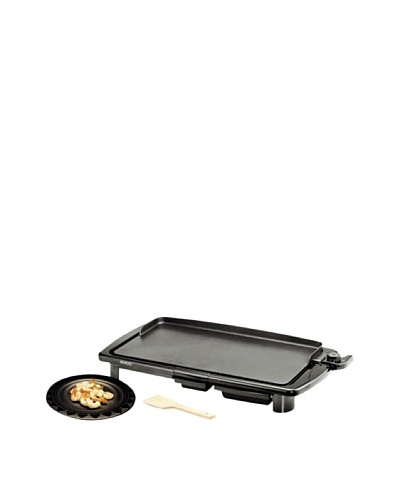 Sogo Gran barbacoa grill lisa 2400W