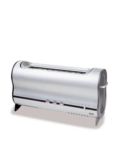 Sogo Tostador aluminio boca ancha 900W
