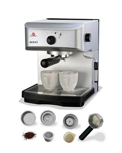 Sogo Cafetera Espresso 3 en 1 15Bar 800W