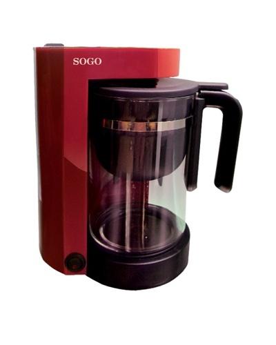 Sogo Cafetera-tetera 2 en 1 870W