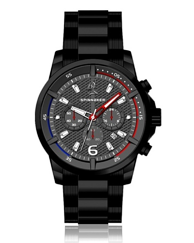 Spinnaker Reloj Wheel & Winch Negro