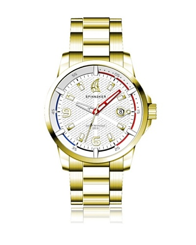 Spinnaker Reloj Wheel & Winch + Gafas de Sol Dorado