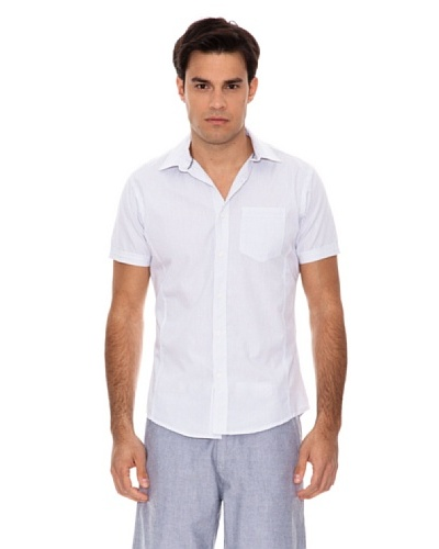 Springfield Camisa Rayas Diplomáticas Blanco