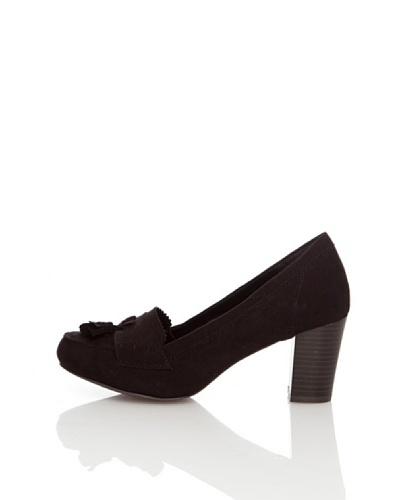 Springfield Zapatos Borlas Negro