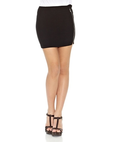 Springfield Falda Corse Black Skirt Negro