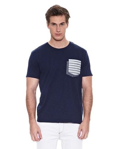 Springfield Camiseta B2 Doble Pkt Ehtnic Azul