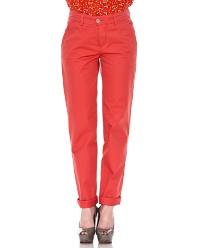 Springfield Chino Comfort Color Rojo