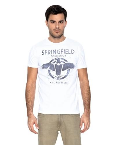 Springfield Camiseta Águila Blanco