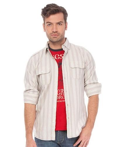 Springfield Camisa Gris / Blanco