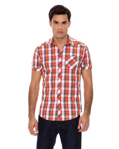 Springfield Camisa Cuadros Color Rojo