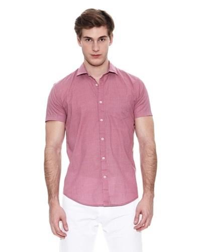 Springfield Camisa Vestir M/C. Sn Micro Print