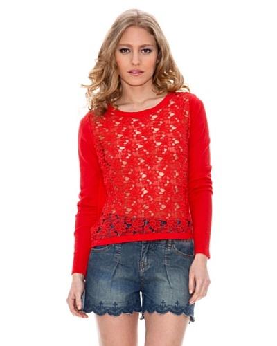 Springfield Jersey Flor Summer Rojo