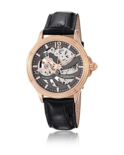 Stührling Reloj 170.334569 de Caballero movimiento automático con correa de piel
