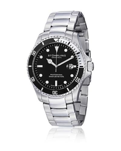 Stührling 326B331113 Reloj de Caballero movimiento de cuarzo con brazalete metálico