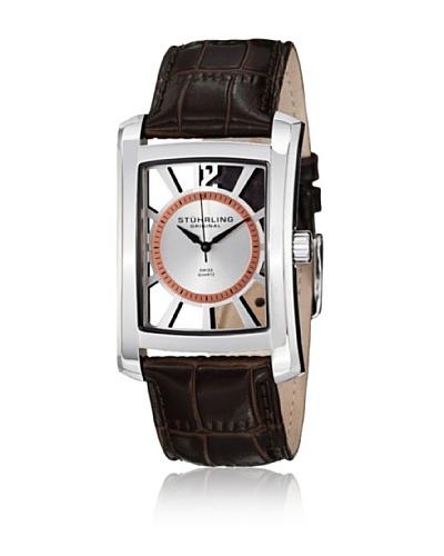 Stührling 144D3315K2 Reloj de Caballero movimiento de cuarzo con correa de piel