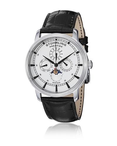 Stührling Reloj 385.33152 de Caballero movimiento de cuarzo con correa de piel