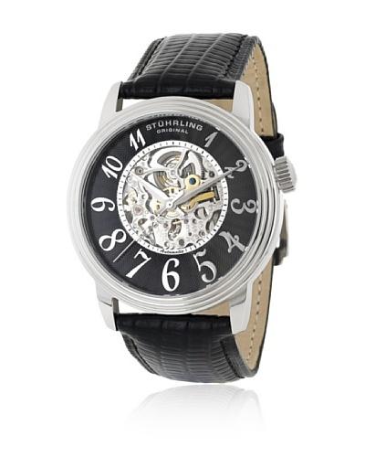 Stührling 107A33151 Reloj de Caballero movimiento automático con correa de piel