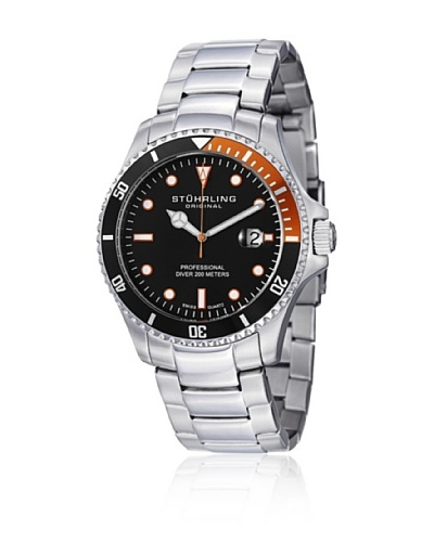 Stührling 326B331157 Reloj de Caballero movimiento de cuarzo con brazalete metálico