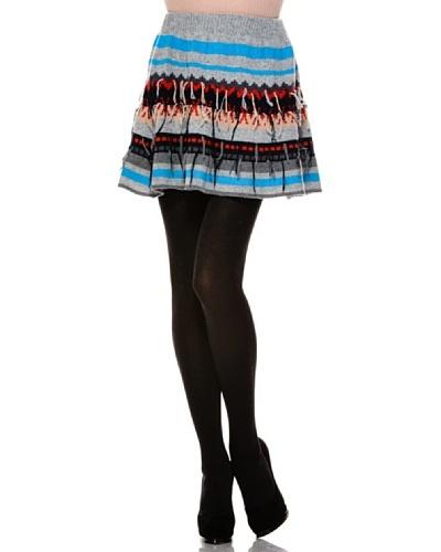 Stefanel Minifalda Mix Righe