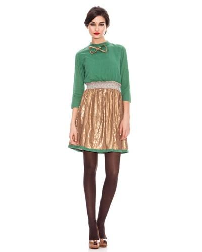 Strena Vestido Pajarita Verde