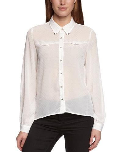 Sugarhill Boutique Camisa  Abrianna Blanco