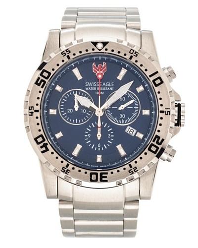 Swiss Eagle Reloj Cronógrafo Dive Fleet Azul