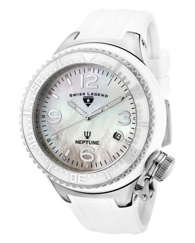 Swiss Legend Reloj Neptune Ceramic Blanco