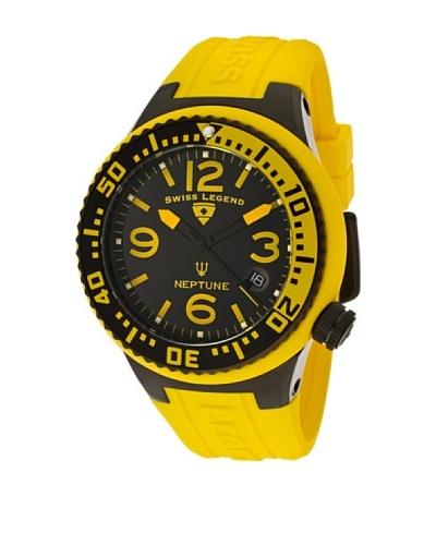 Swiss Legend Reloj Neptune Lady Amarillo