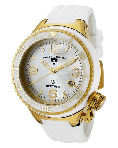 Swiss Legend Reloj Neptune Ceramic Blanco