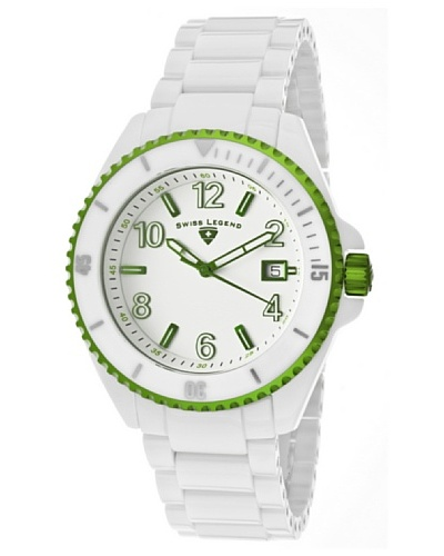 Swiss Legend Reloj Luminar Blanco