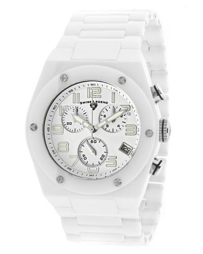 Swiss Legend Reloj Throttle Blanco