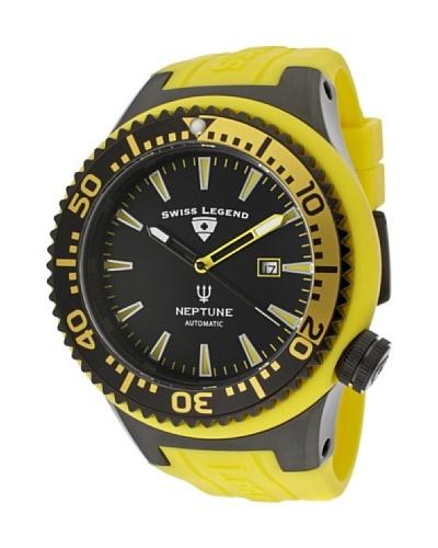Swiss Legend Reloj Neptune Automatic Amarillo
