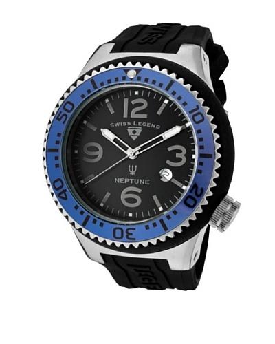 Swiss Legend Reloj Neptune Negro