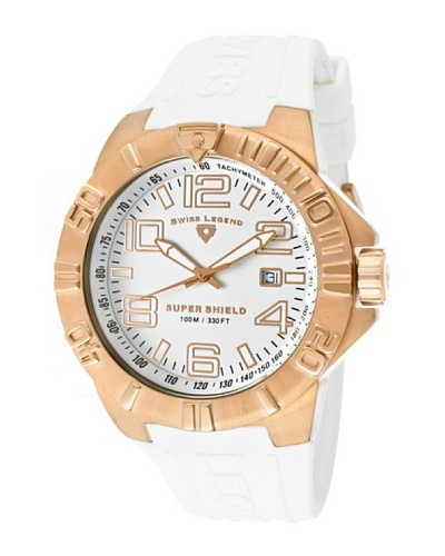 Swiss Legend Reloj Super Shield Blanco