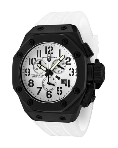 Swiss Legend Reloj Trimix Diver Blanco