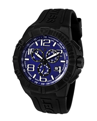 Swiss Legend Reloj Super Shield Negro