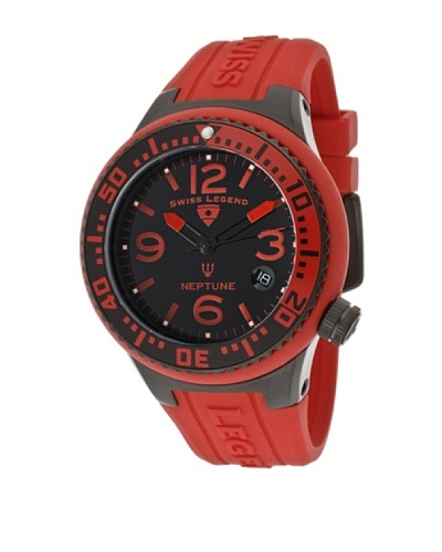 Swiss Legend Reloj Neptune Lady Rojo