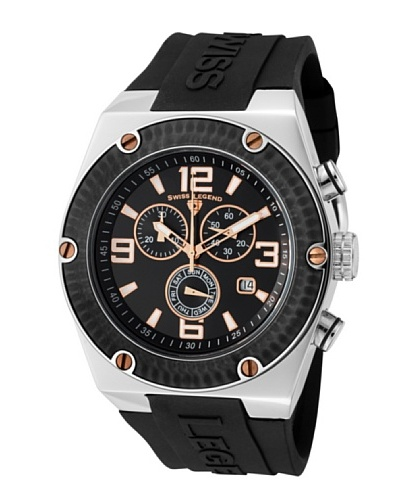 Swiss Legend Reloj Throttle Negro