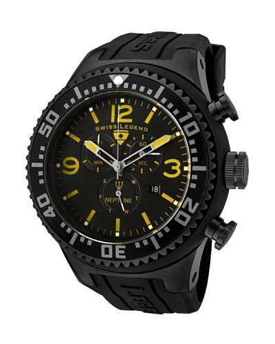 Swiss Legend Reloj Neptune Chrono Negro