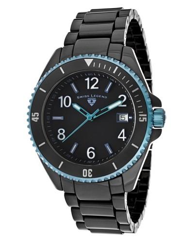 Swiss Legend Reloj Luminar Negro
