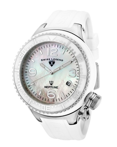 Swiss Legend Reloj Neptune Blanco