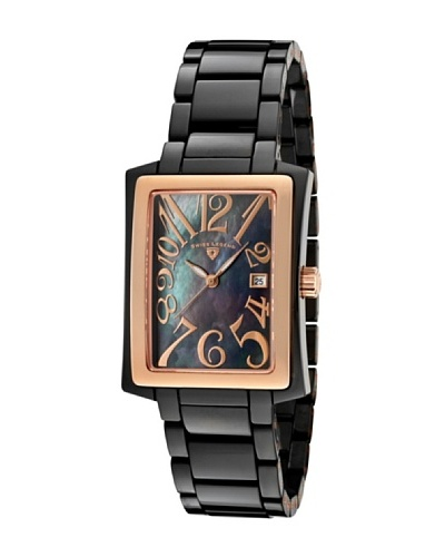Swiss Legend Reloj Bella Negro