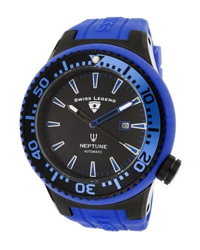Swiss Legend Reloj Neptune Automatic Azul