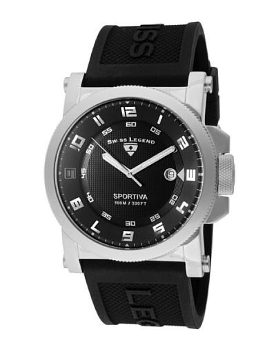 Swiss Legend Reloj Sportiva Negro