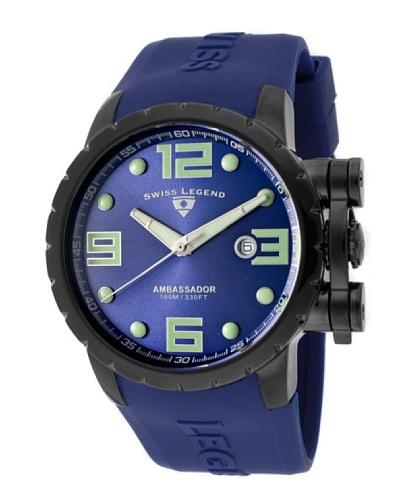 Swiss Legend Reloj Ambassador Azul